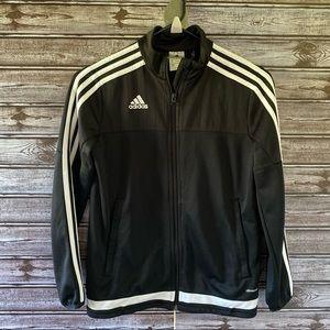 Girl's Adidas Full-Zip Track Jacket Size M